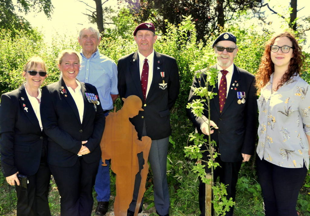 War remembrance ceremony