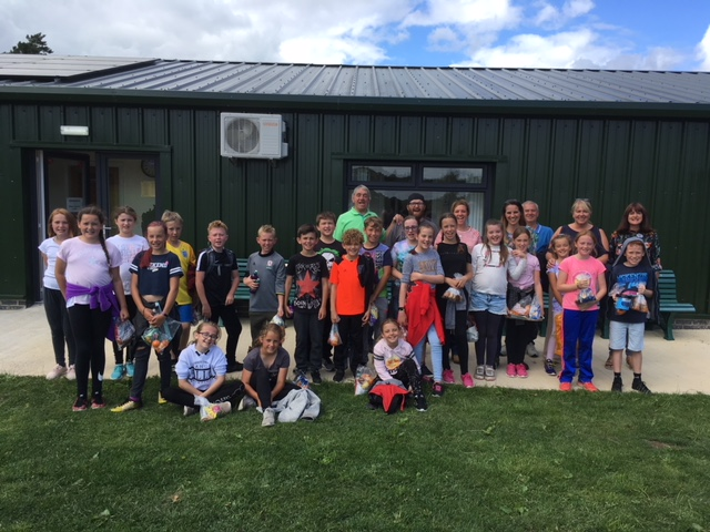 The Visit of St.Peters School Brotton