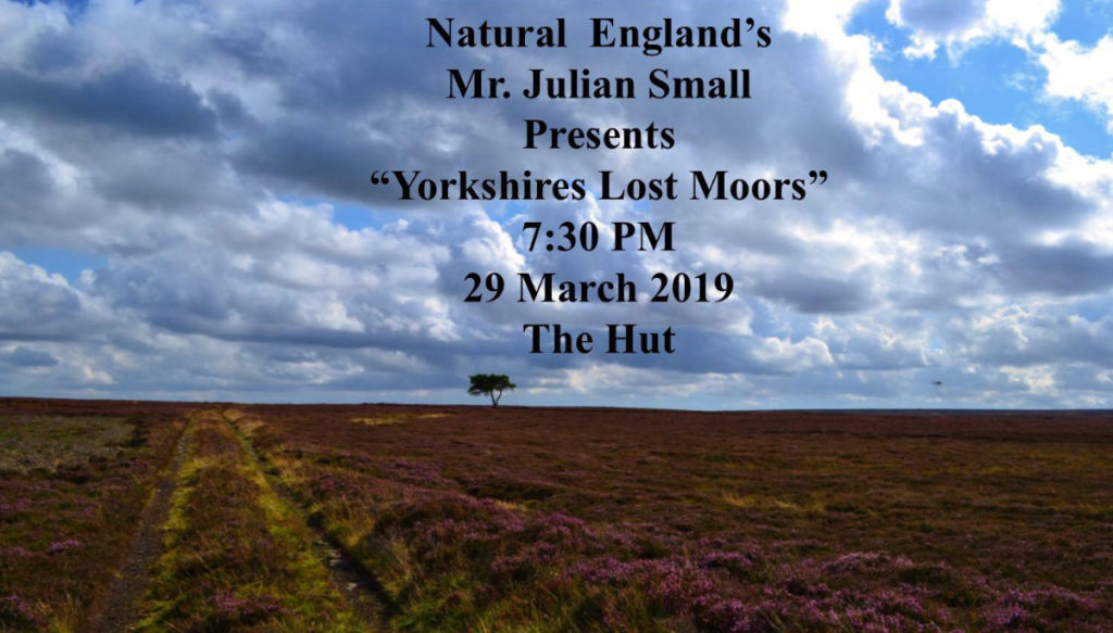 Poster for an event at the Goathland Hut